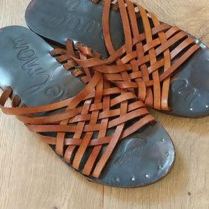 Sam Edelman Leather Huarache/sandal